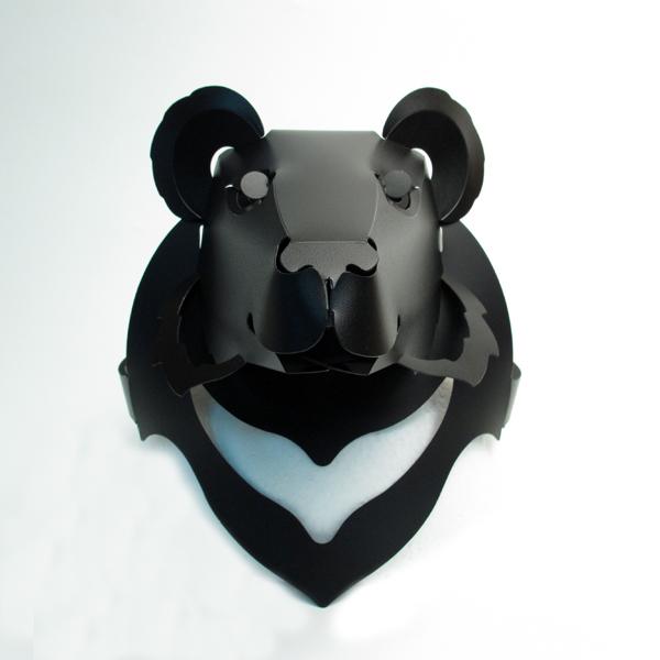 台灣黑熊頭套 1