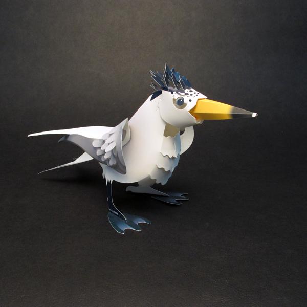 黑嘴端鳳頭燕鷗 1